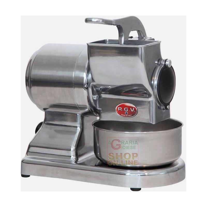 PROFESSIONAL RGV ELECTRIC GRATER IN STAINLESS STEEL MOD. MAXI
