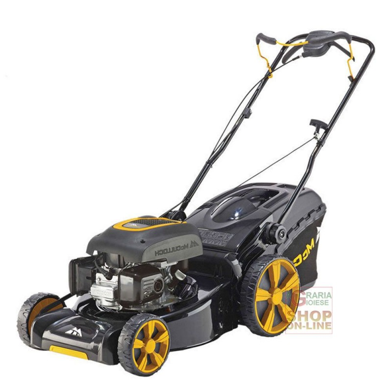 MCCULLOCH LAWN MOWER SELF PROPELLED COMBUSTION M53-190AWRPX CM.
