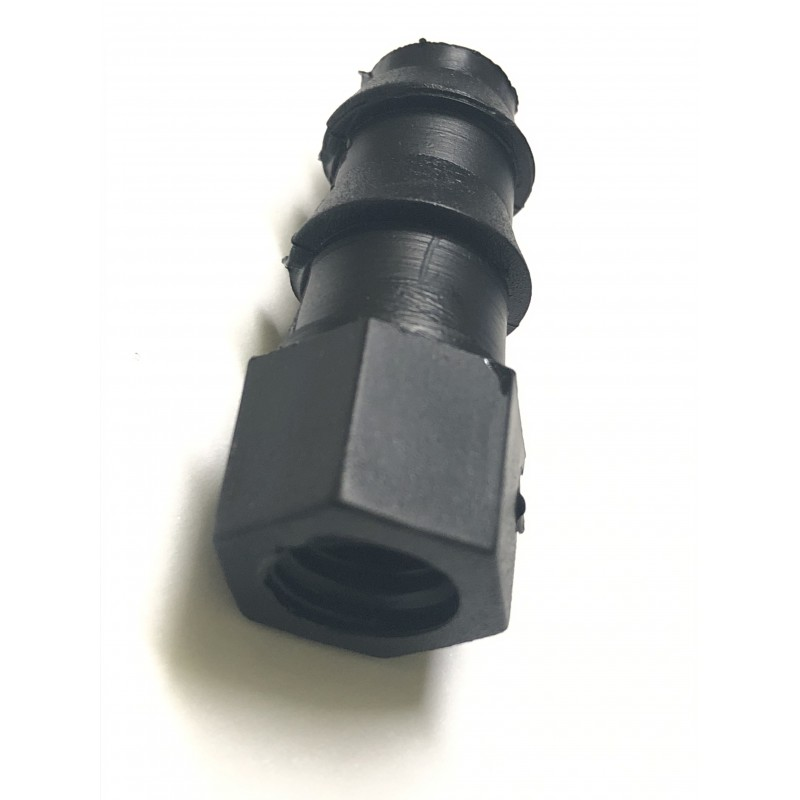 HOSE ADAPTER FOR BLACK PIPE PN4 DIAM. 16 WITH THREADED OUTPUT