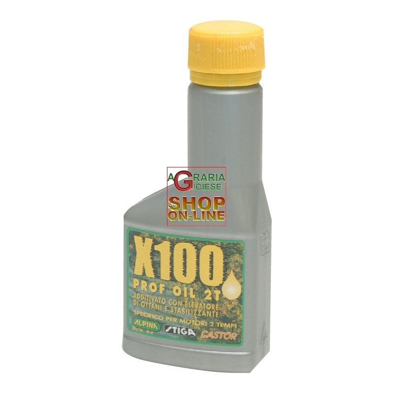 TWO TIMES SYNTHETIC OIL FOR MIX CHAINSAWS BRUSHCUTTERS ALPINA