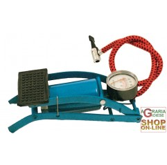 FOOT PUMP WITH PORTABLE MANOMETER