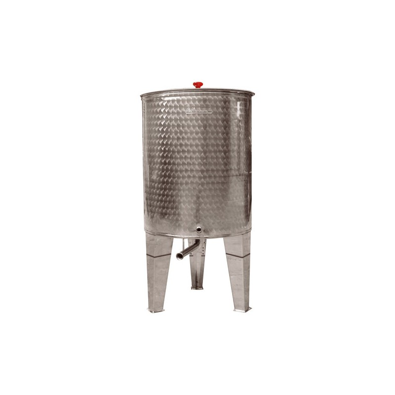 SANSONE SILOS STAINLESS STEEL CONTAINER FOR WINE, OIL AND