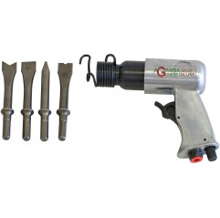 PNEUMATIC CHISELER WITH 4 CHISELS