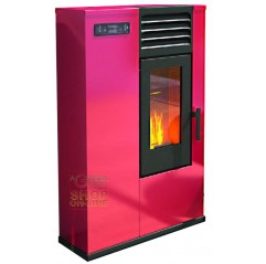 PELLET STOVE FIRE POINT SUSY SLIM KW. 7.5 (BR) RED