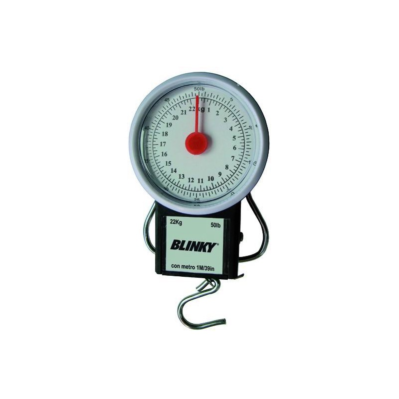 BLINKY SPRING SCALE WITH FLEXOMETER MAX KG. 22