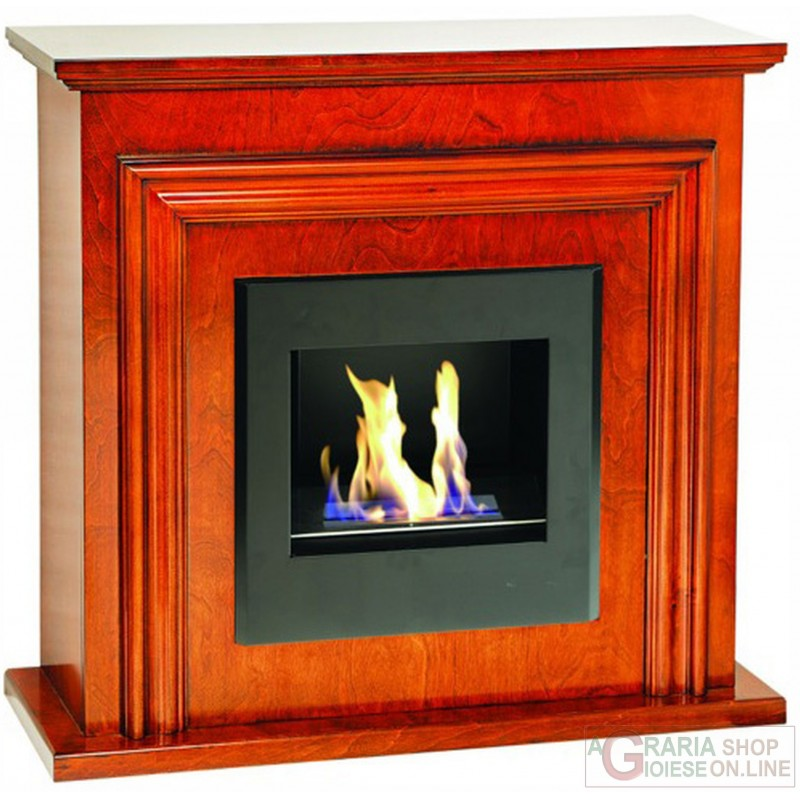 BIOETHANOL FIREPLACE MOD.A180 WOOD COLOR