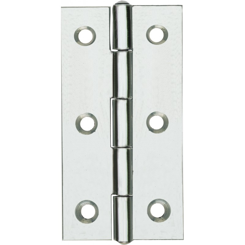1-1 / 2 MM NARROW STAINLESS STEEL HINGES. 40 PCS. 2