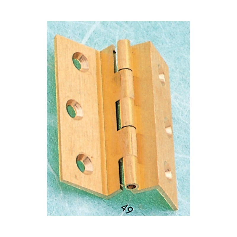 HINGES IN FRAMED BRASS DOUBLE NECK BENT OS 60x50 PZ. 2
