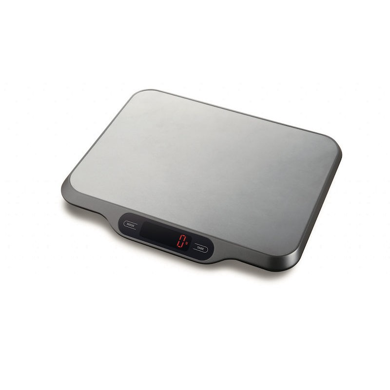 EVA DIGITAL STAINLESS STEEL KITCHEN SCALE WITH TIMER KG. 15