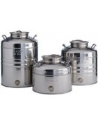 Sansone stainless steel containers bins